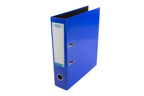 Elba 70mm Lever Arch File Laminated A4 Blue 400107430