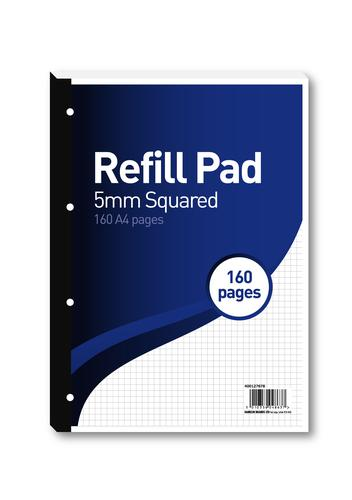 Hamelin 5mm Squared Refill Pad A4 80 Sheet (Pack of 5) 400127678