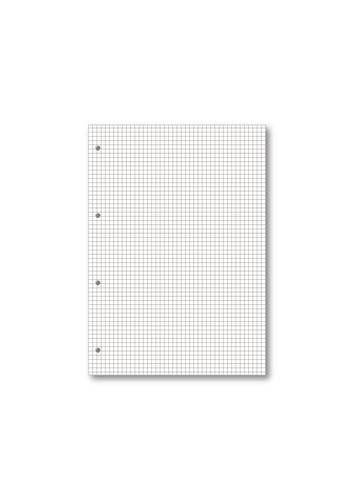 Hamelin 5mm Squared Refill Pad A4 80 Sheet (Pack of 5) 400127678 Refill Pads JD04863