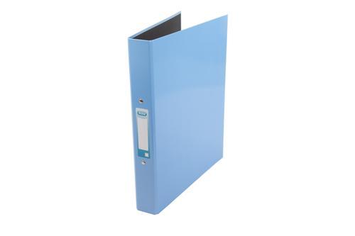 2 O Ring 25mm Laminated ''Classy'' Ring Binder A4 Metallic Blue