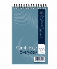 Cambridge Wirebound Notebook 125 x 200mm 300 Pages Ruled (Pack of 5) 846200083