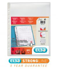 Elba Expanding Punch Pocket With Flap A4 (Pack of 10) 100080754