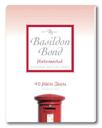 Basildon Bond A5 148 x 210 mm Writing Pad with 40 Sheets Airmail Blue