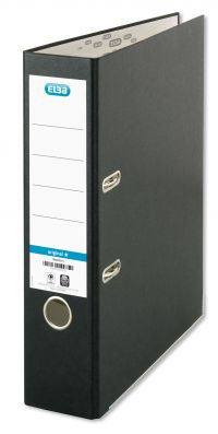 Elba Board Lever Arch File A4 Black (Pack of 10) B1045709