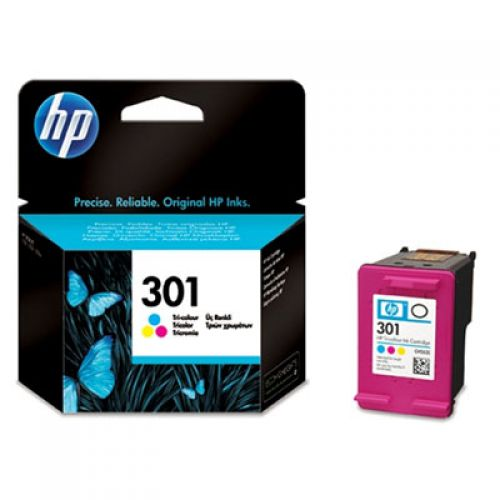HP 301 Colour Standard Capacity Ink Cartridge 3ml - CH562EE