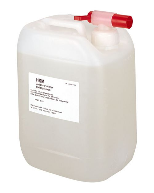 Special Lubricating Oil Canister 5 l