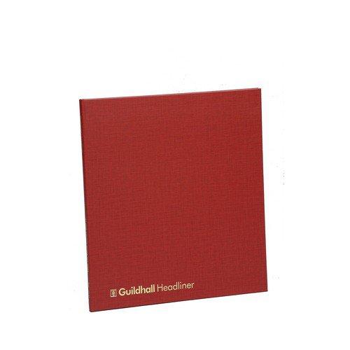 Guildhall Headliner Account Book 48 Series 80 Pages 4 Debit & 12 Credit