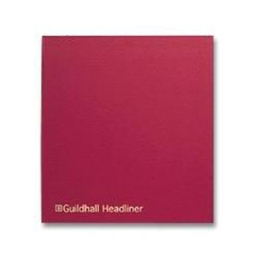 Guildhall Headliner Book 58 Series 4/16 Petty Cash Column 80 Pages