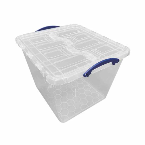 Really Useful LID for 60 Litre Winged Lid Clear