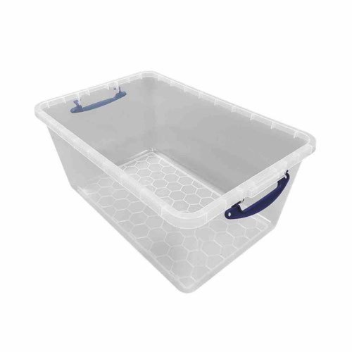 Really Useful 61 Litre Clear Nestable