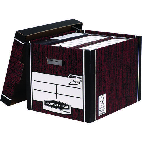 Premium Tall Box-Blue (Fsc) Storage Box 5  Pack