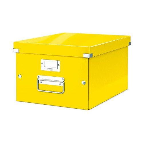 Leitz WOW Click & Store Box Medium Yellow