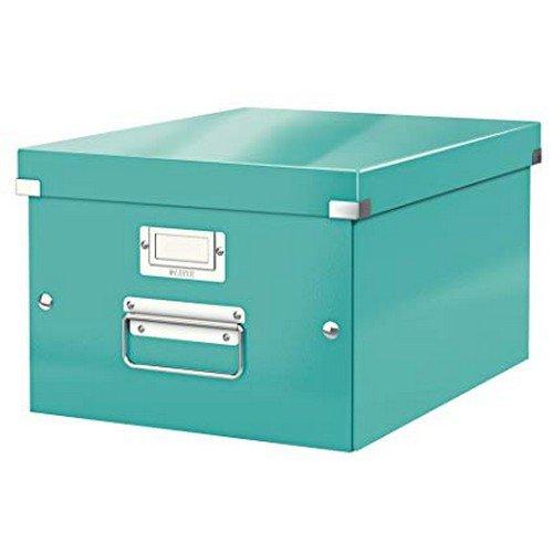 Leitz WOW Click & Store Box Medium Ice Blue