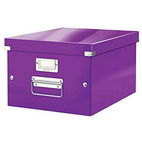 Leitz WOW Click & Store Box Medium Purple