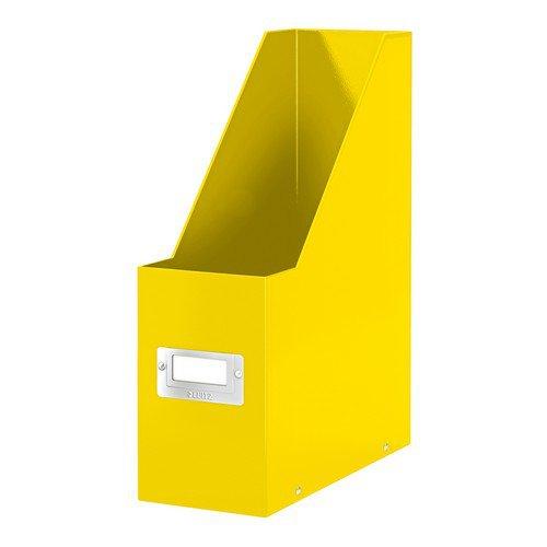Leitz WOW Click & Store Magazine File Yellow