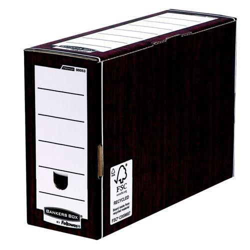 Bankers Box Premium Transfer Box File Woodgrain