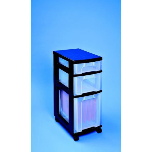 Really Useful Drawer Unit 1x17 Litre-1x12 Litre-1x 25 Litre Can Be Used For Suspension Files