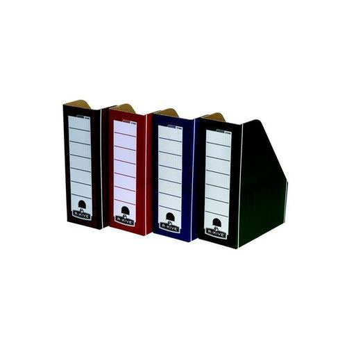 Fellowes Bankers Box Premium Magazine File Woodgrain