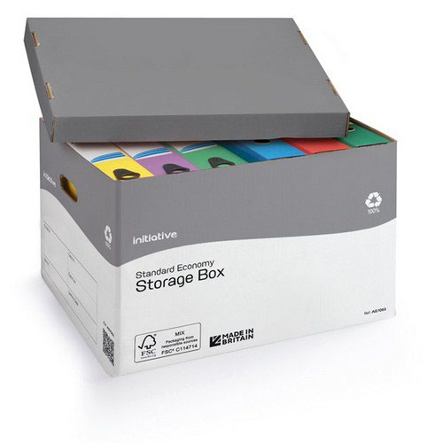 Initiative Economy Storage Box 317w x 384d x 287h mm