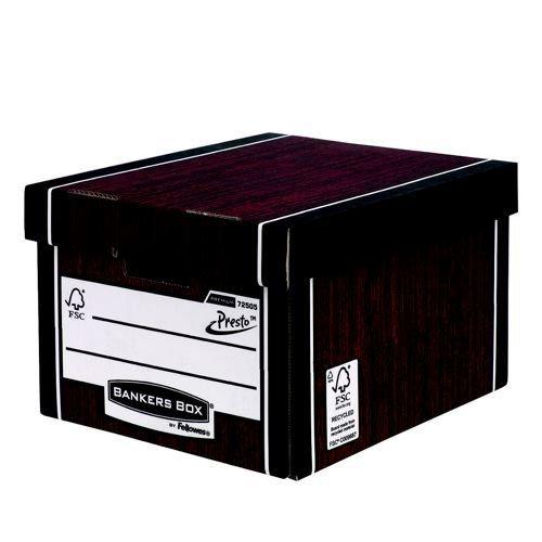 Fellowes Bankers Box Premium Classic Storage Box Blue/White 10