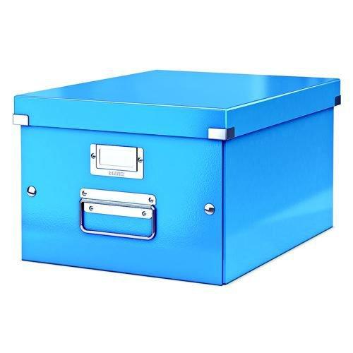 Leitz Wow Click & Store A4 Box Blue