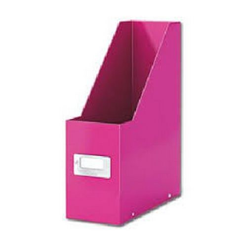 Leitz Wow Click & Store Magazine File Pink