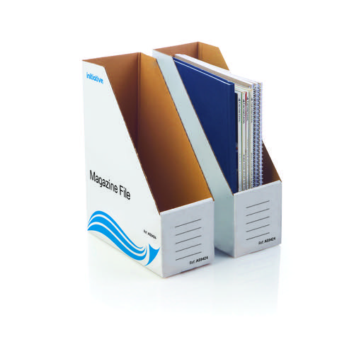 Initiative Magazine File 94w x 235d x 300h mm