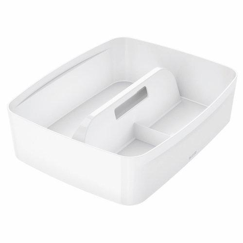 Leitz Mybox Organizer Tray With Handle Large White