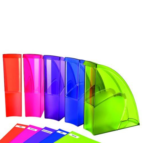Happy by CEP Pack of 5 Multicolour Magazine Files