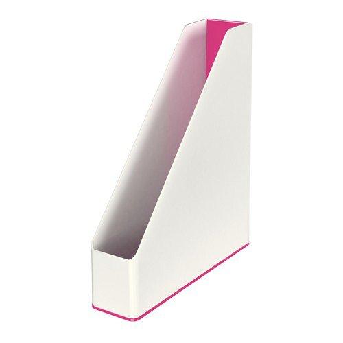 Leitz WOW Magazine File Dual Colour Pink Metallic