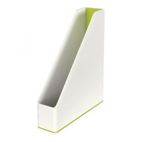 Leitz WOW Magazine File Dual Colour Green Metallic