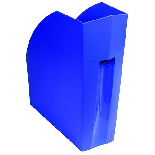 Tollit Forever Magazine File Recycled Plastic A4plus Cobalt Blue