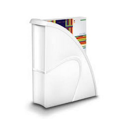 CEP Pro Gloss Magazine File Made From Recyclable; Shock Resistant Polystyrene White