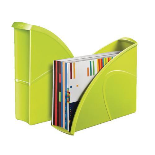 CEP Pro Gloss Magazine File Made From Recyclable; Shock Resistant Polystyrene Green