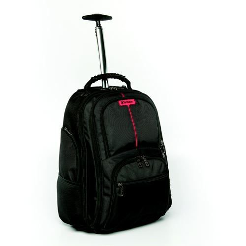 Verbatim Paris Roller Backpack Black