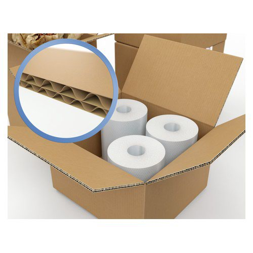 Corrugated Box Double Wall 457x305x305 Brown Pack 15