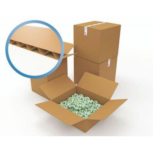 Corrugated Box Single Wall 381x330x305 Brown Pack 25