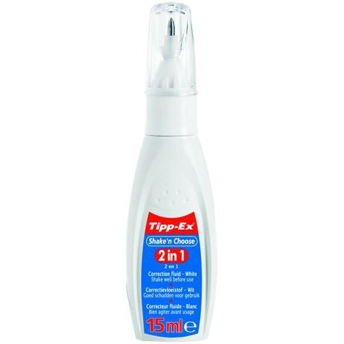 Tipp-Ex Shake n Choose 2 in 1 Correction Fluid