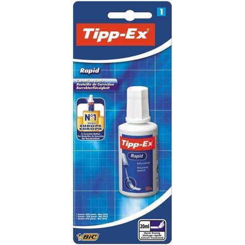 Tipp-Ex Rapid Fluid 20ml Value Pack 15 + 5