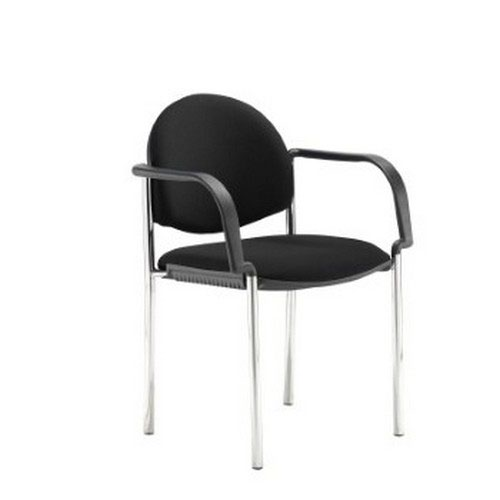 Coda Multi Purpose Chair And With Arms And Black Fabric