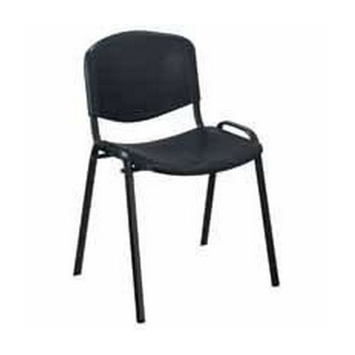 Jemini Multi Purpose Polypropylene Stacking Chair Charcoal KF72369