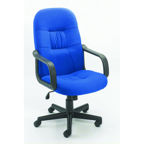 Jemini High Back Manager Chair Blue KF50180