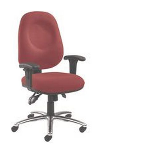 Arista Concept High Back Tilt Operator Chair Claret KF03462