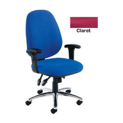 Arista Concept High Back Maxi Tilt Operator Chair Claret KF03466