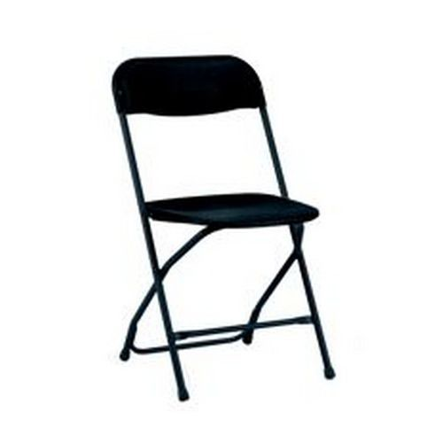 2200 Series Folding Chair Black/Black Sold in Boxes of 8 Chairs