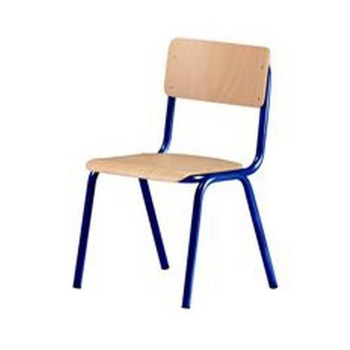 Concordia Stacking Chair 43cm Silver