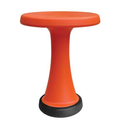 Gopak One Leg Stool 320mm Orange Including Antislip Foot