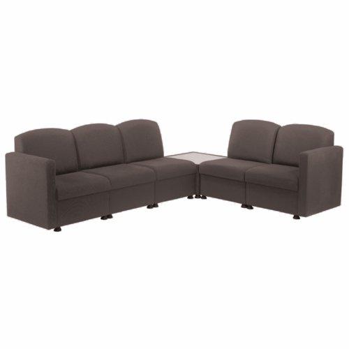 Arista Charcoal Modular Reception Chair KF74203