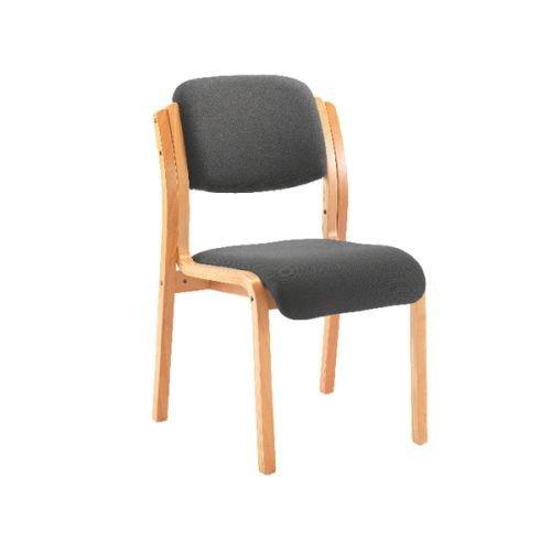 Jemini Charcoal Wood Frame Side Chair KF78680