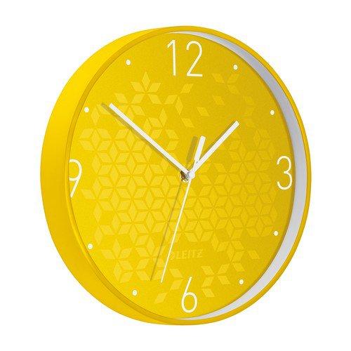 Leitz WOW Wall Clock Yellow